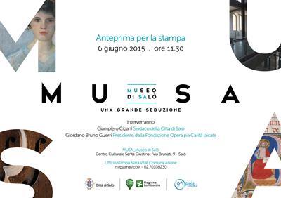 MU.SA.: Una grande seduzione. Il Museo di Salò