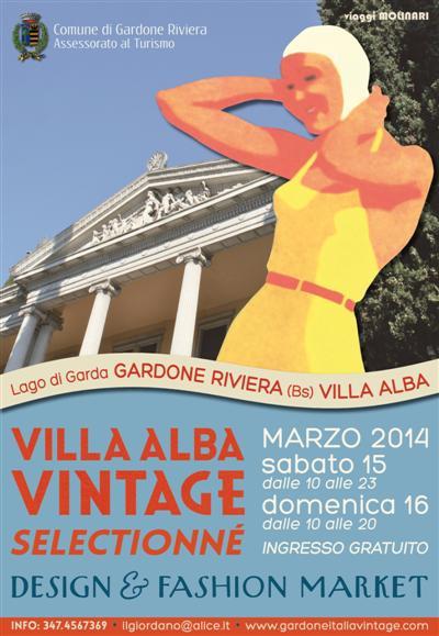 Villa Alba vintage Gardone Riviera