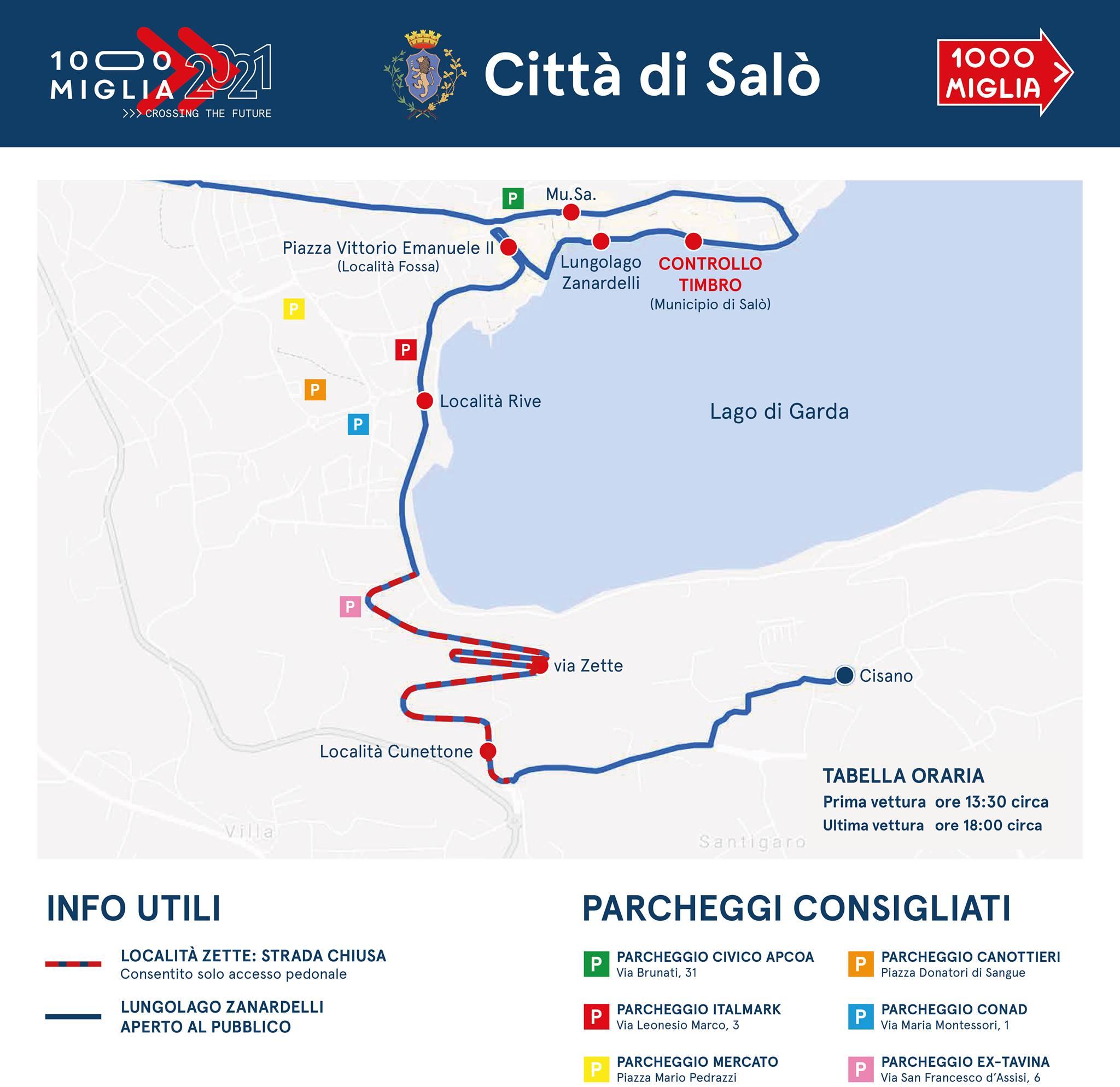 Millemiglia 2021 - 19 giugno arriva a Salò